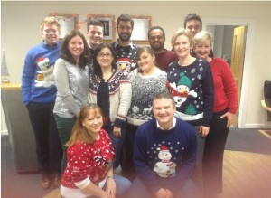 Xmas Jumper Day 2014